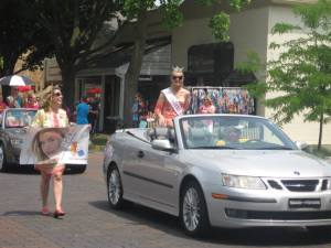 Miss Indiana Scholarship Pageant Parade